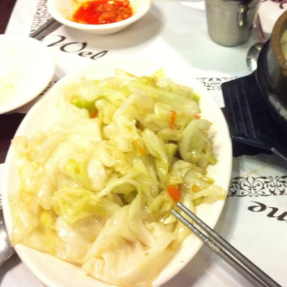 Fried Cabbage @ 韓庭州