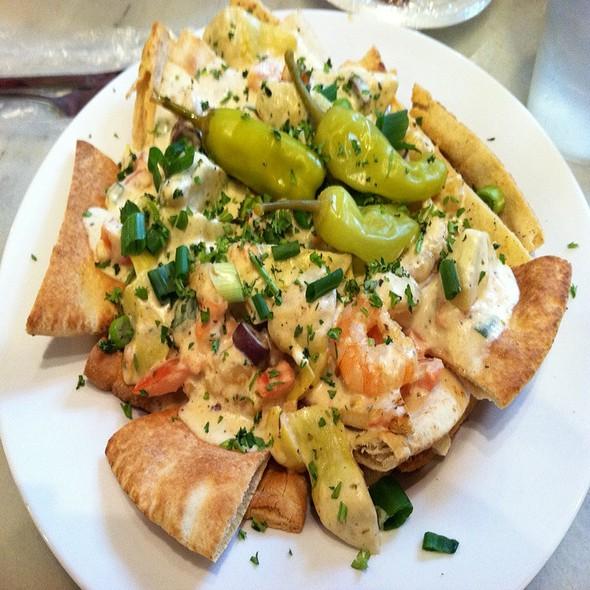 Greek Nachos @ Fish Market Restaurant