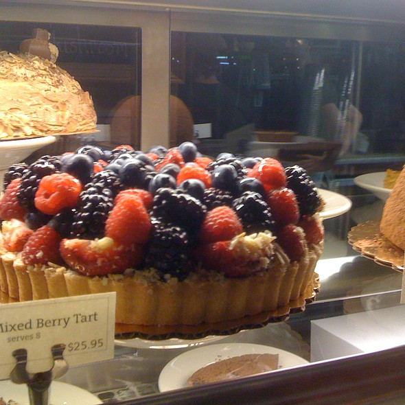 Mixed Berry Fruit Tart @ Panera Bread