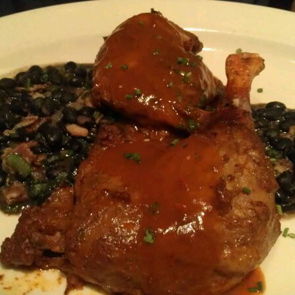 Red Chile Braised Duck Legs With Black Beans @ Chama River Brewing Co