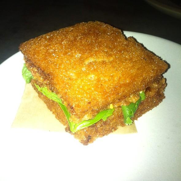 Shrimp Toast Sandwich With Sriracha Mayo @ Son Of A Gun