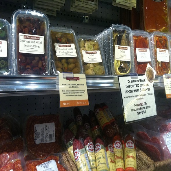 Grab & Go Antipasta @ Di Bruno Brothers