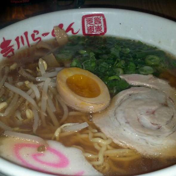Shoyu Ramen @ Terakawa Ramen