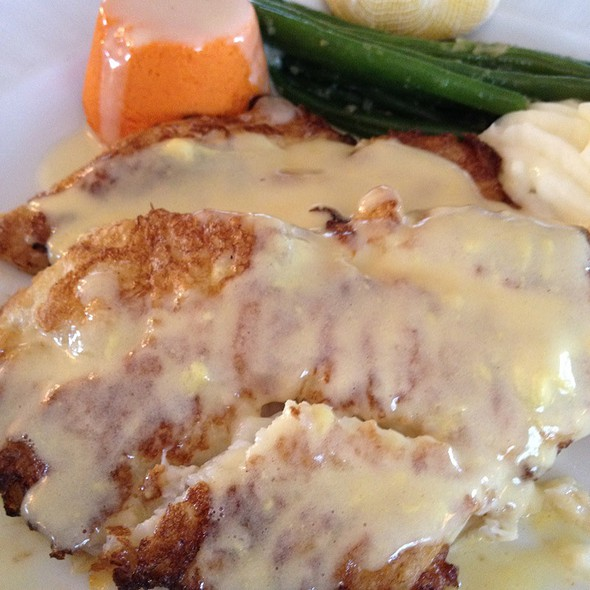 Flounder Francese At Gazebo Cafe