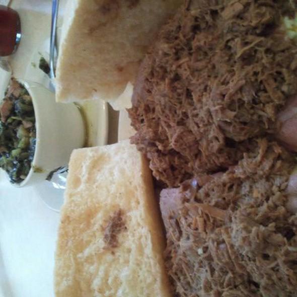 Famous Ferdi special @ Mother's Restaurant