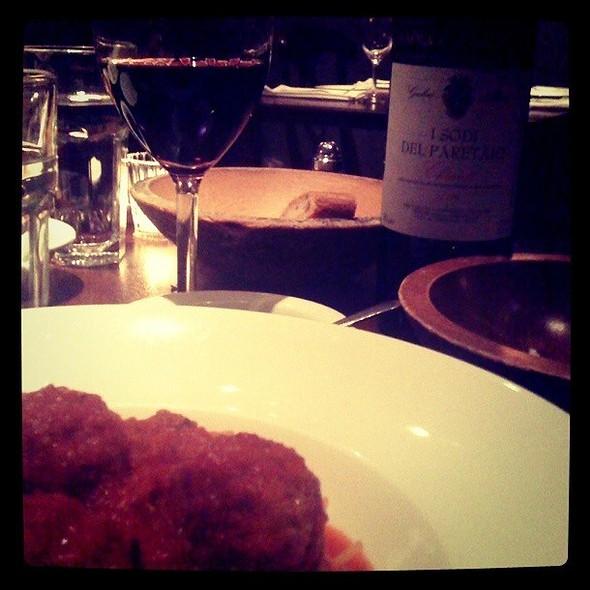 Gluten Free Vermicelli With Meatballs - Bacco Ristorante, San Francisco, CA