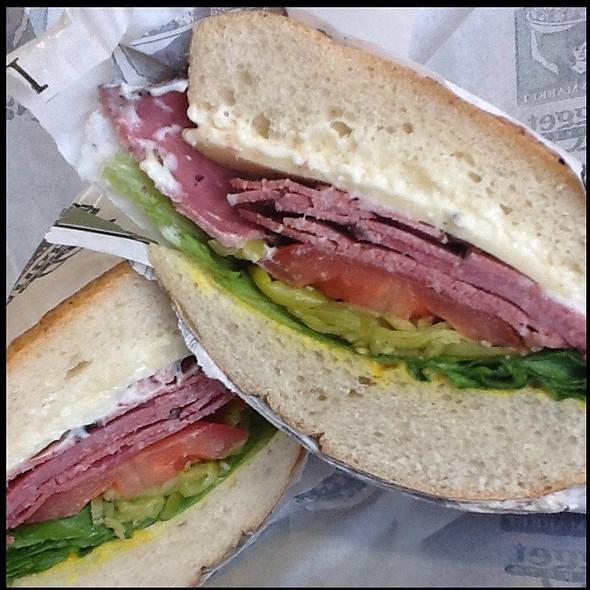 Pastrami Sandwich @ Nugget Markets