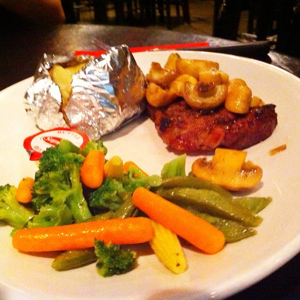 Steak @ Best Neighbours Restaurant & Pizza House The