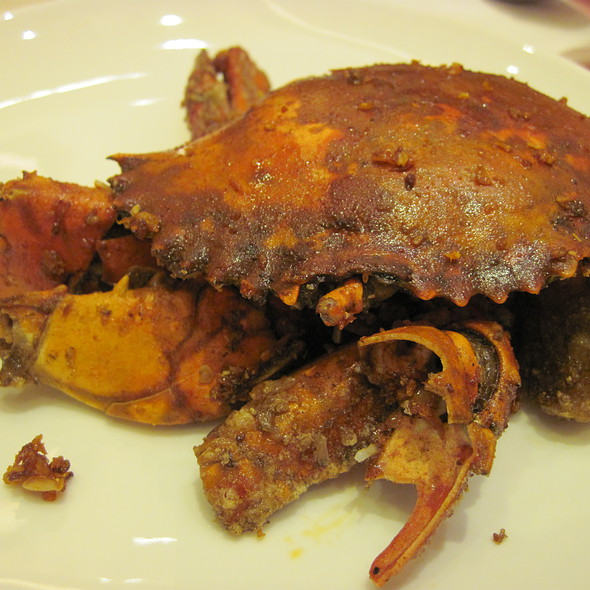 Crab with garlic @ Buffet 101