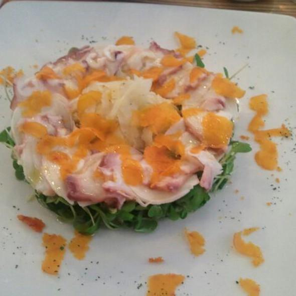 Sous Vide Octopus With Fennel Salad And Bottarga @ Paolo de Maria