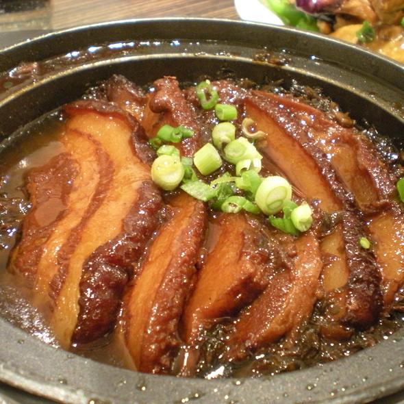 Pork Belly In Brown Sauce @ Restaurant Kanbai