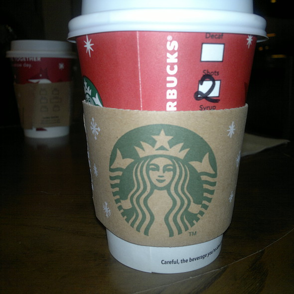 Mocha Latte @ Starbucks Coffee