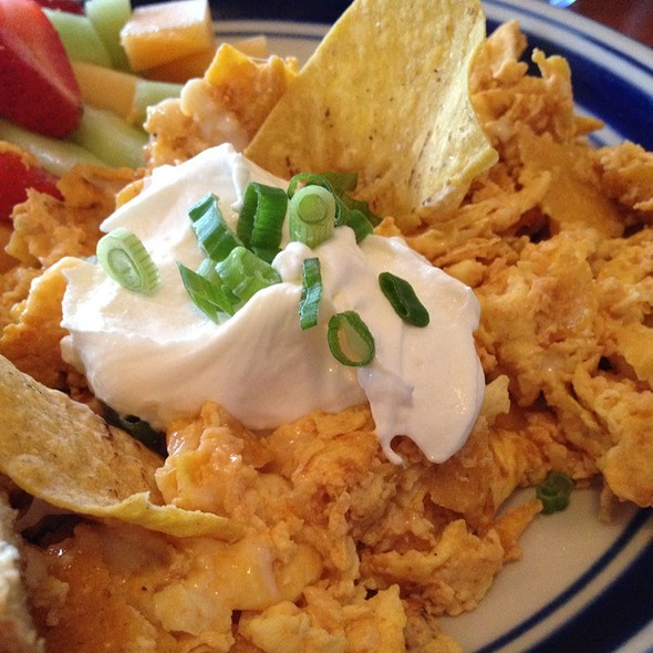 Chilaquiles - Blue Star Cafe and Pub, Seattle, WA