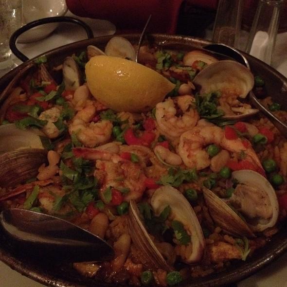 Paella Valenciana - España Restaurant of Amelia Island, Fernandina Beach, FL