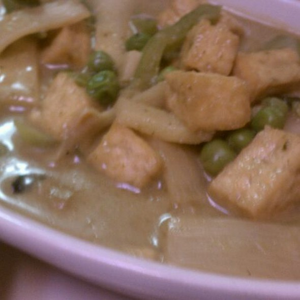Green Curry with Tofu @ Wasabi Cafe