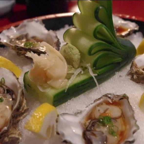 Oyster Sashimi @ Sakura Ichi Japanese Restaurant