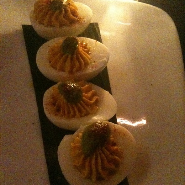 Angry Eggs @ Susan Feniger's Street