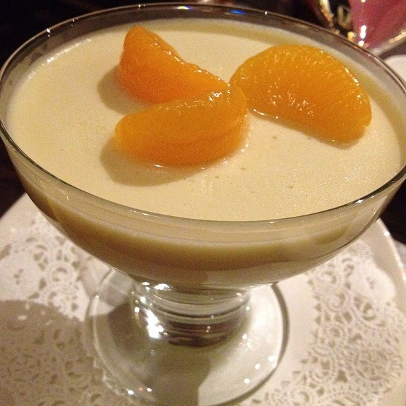 Creamsicle Panna Cotta - VIA Italian Table, Worcester, MA