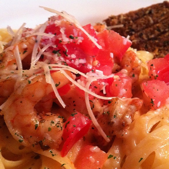 Scampi Shrimp Pasta @ Outback Steakhouse