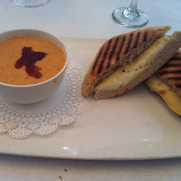 Grilled Cheese And Tomato Bisque - Timpano Italian Chophouse - Tampa, Tampa, FL