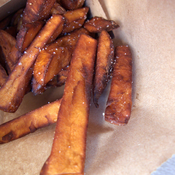 Kumara Fries @ Burger Fuel