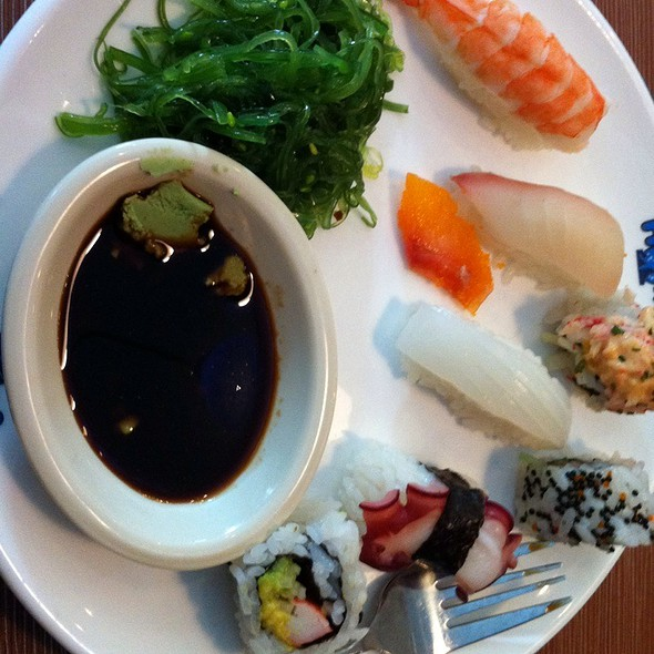 Sushi, Rolls, And Sashimi @ Hokkaido