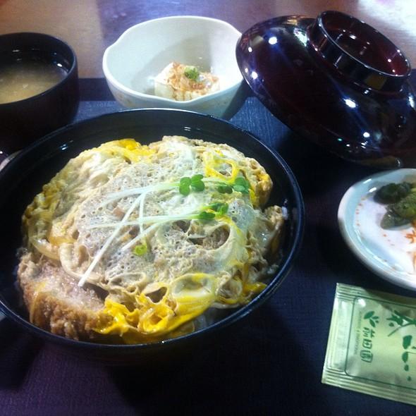 Katsu Ni / Pork Cutlet @ Mitsuwa Marketplace