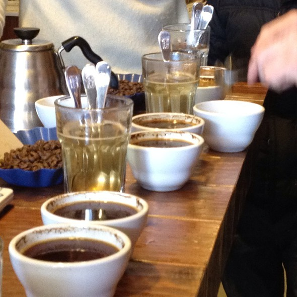 Cupping  @ Blue Bottle Coffee Co.