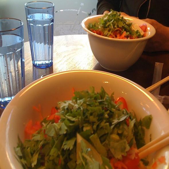 Noodles On Land With Tofu And Coconut Noodles @ Núðluskálin
