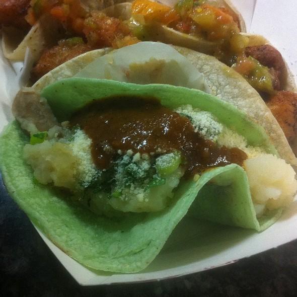 Tacos de Papa @ Best Fish Taco in Ensenada