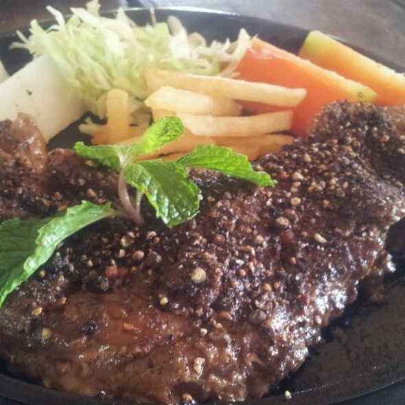 Beef Pepper Steak @ Steak Jing Jing