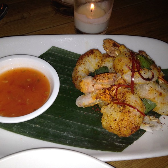 Salt And Pepper Prawns @ Betel