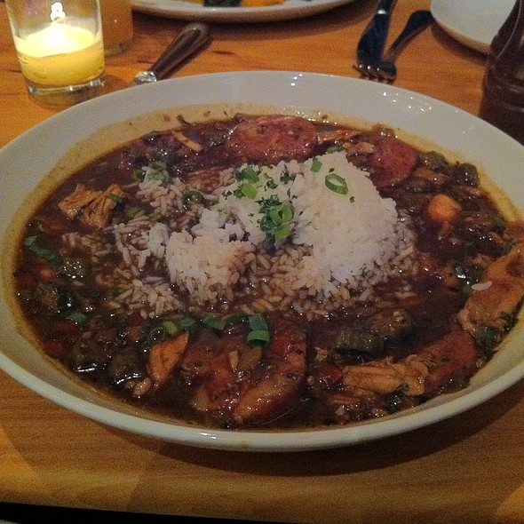 Smoked Chicken and Andouille Sausage Gumbo @ Boxing Room