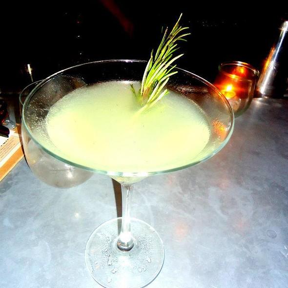 Cucumber Martini @ The W South Beach Hotel