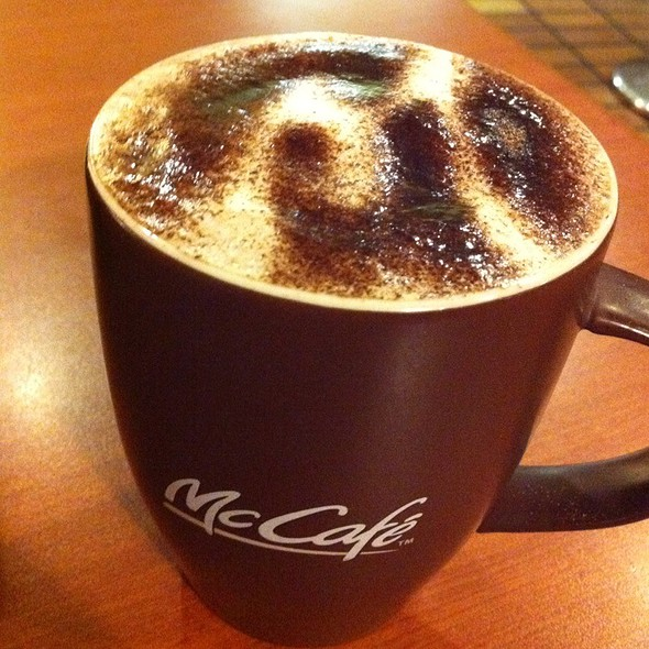 Hot Chocolate @ Mcdonald's