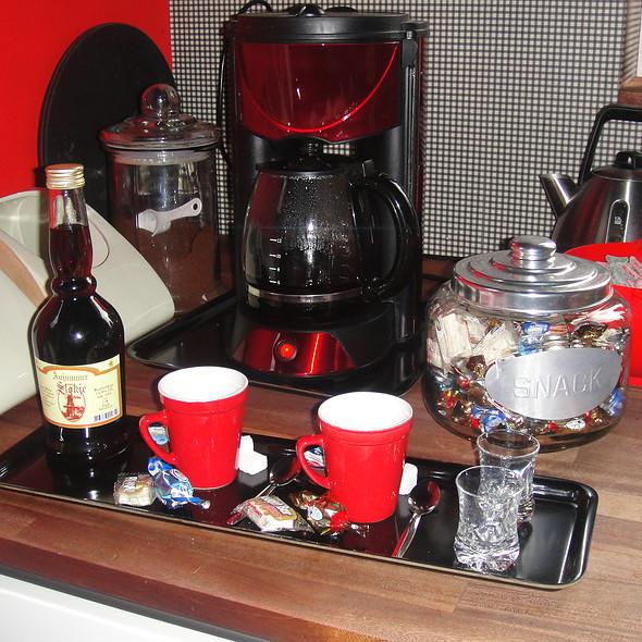 Welkomst drankje & Koffie @ Binneninn Bed and Breakfast