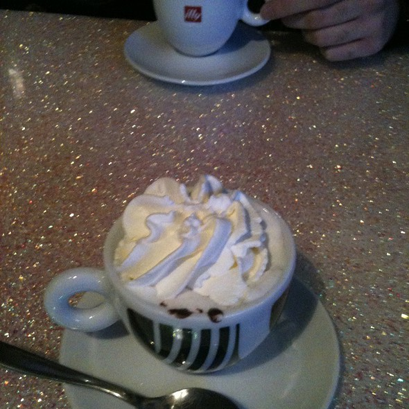 Hot Chocolate with Whipped Cream @ Pasticceria Giorgia
