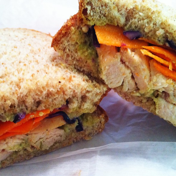 Grilled Chicken Sandwich @ Pure Fare