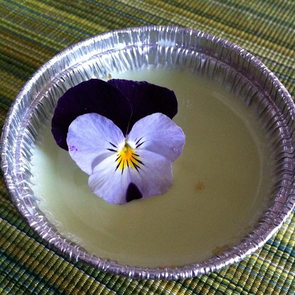 Green Tea Matcha Flan @ Starry Kitchen