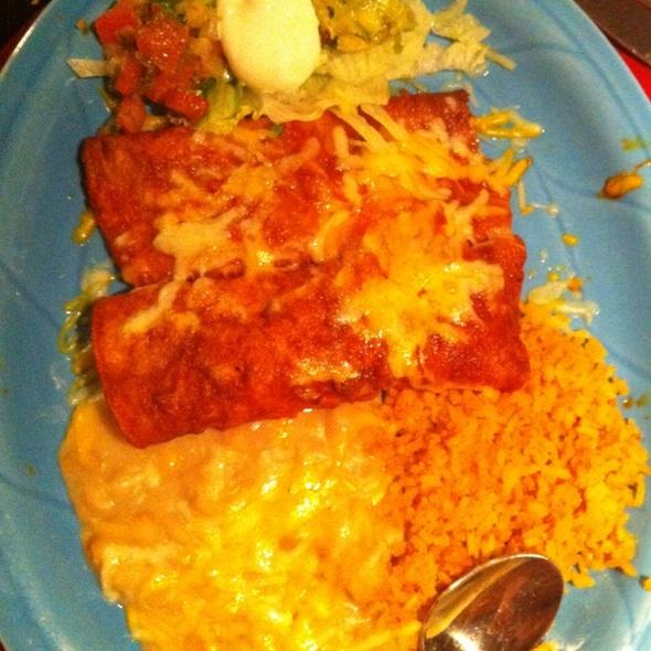 enchiladas - Lopez Restaurante y Cantina, Monterey, CA