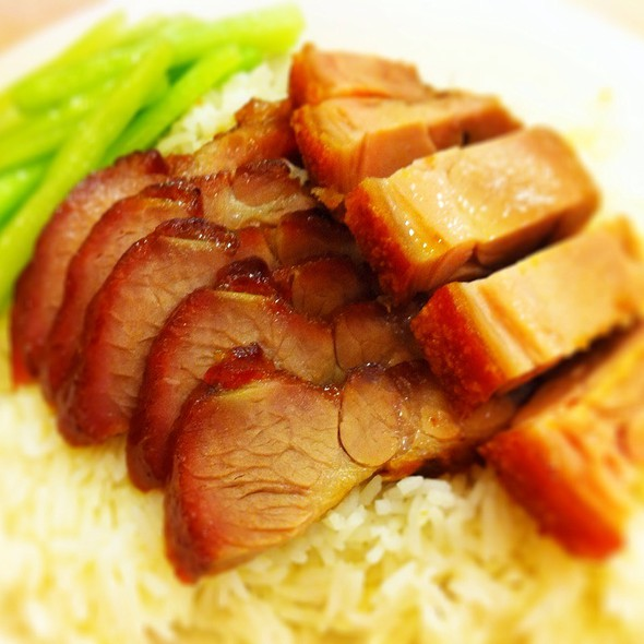 Barbeque Pork & Rice @ Chatswood Barbeque Kitchen