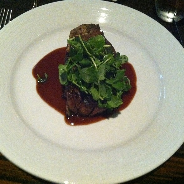 Bone In Filet Mignon @ Private Social