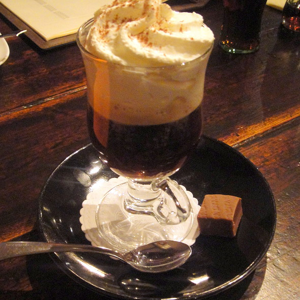 Irish Coffee @ Frankie's Rib & Steakhouse