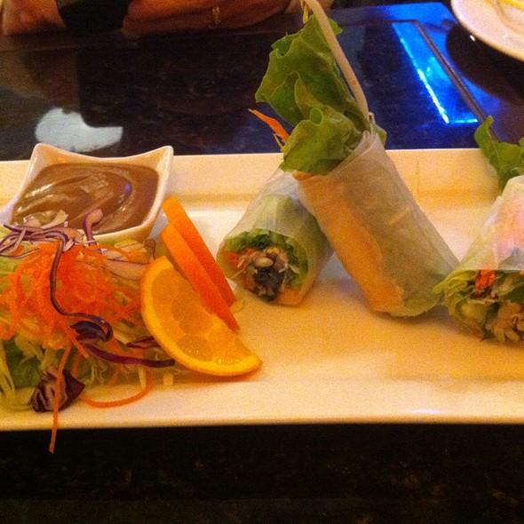 Tofu spring rolls @ Bai Plu Restaurant & Sushi Bar