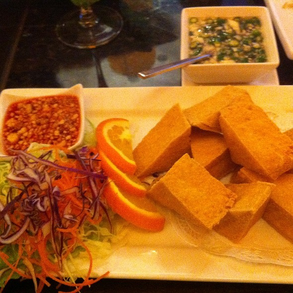Fried Tofu @ Bai Plu Restaurant & Sushi Bar