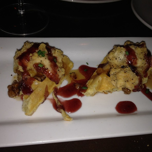 Chicken and Waffles @ WiseGuys