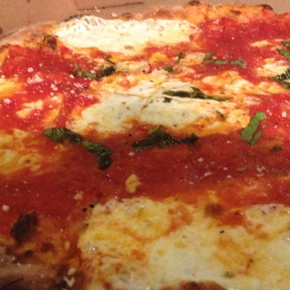 Pizza Margherita (Baby Pie) @ Peppino's Brick Oven Pizza & Restaurant