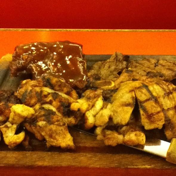 Meat Platter @ Tender Bob's