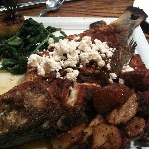 Sea Bass Branzino - Green Valley Grill, Greensboro, NC