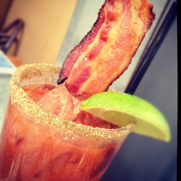 Bacon Bloody Mary @ Boon Fly Cafe
